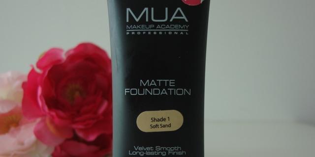 Header MUA Matte Foundation